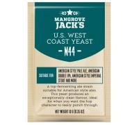 Сухие пивоваренные дрожжи Mangrove Jack's US West Coast M44, 10 г
