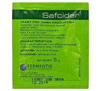 Сухие сидровые дрожжи Safcider, 5 г, Fermentis