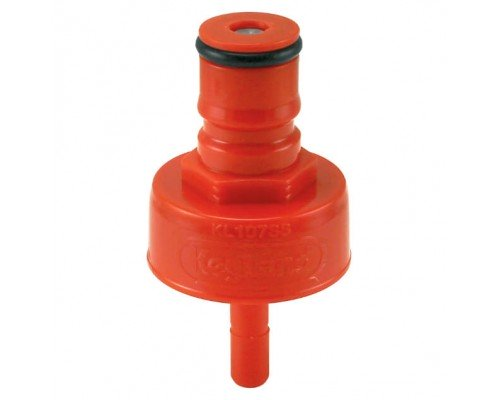 Крышка для карбонизации с фитингом Ball Lock «KegLand», пластиковая
