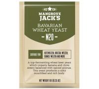 Сухие пивоваренные дрожжи для пшеничного пива Mangrove Jack's Bavarian Wheat Yeast M20 (10 г)