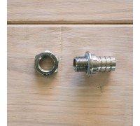Штуцер компрессионный с гайкой под шланг 12 мм
