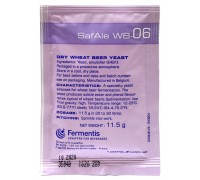 Сухие пивоваренные дрожжи Safale WB-06 Wheat (11,5 г), Fermentis