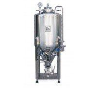 Конический стальной ферментер Ss BrewTech 17 gal Unitank HalfBarrel (65 л)