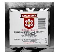 Сухие пивоваренные дрожжи верхового брожения Gozdawa British Ale 04, 10 г
