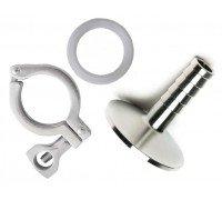 Комплект для присоединения отводящей трубки (1,5 TC×шланг 12 мм)