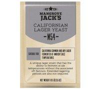 Сухие пивоваренные дрожжи Mangrove Jack's California Lager M54, 10 г