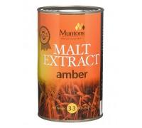 Неохмеленный солодовый экстракт Muntons Amber (1,5 кг)
