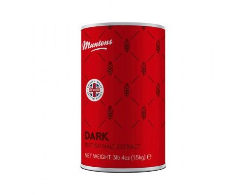 Неохмеленный солодовый экстракт Muntons Dark (1,5 кг)