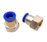 Коннектор для пневмошланга 12 мм, внутренняя резьба G 1/2