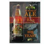 Сухие пивоваренные дрожжи BullDog B44 European Ale, 10 г