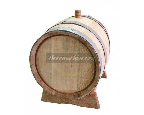 Дубовая бочка для самогона, коньяка, виски, вина (15 л)
