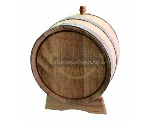Дубовая бочка для самогона, коньяка, виски, вина (30 л)