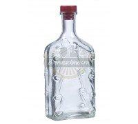 Бутылка стеклянная «Ёлка» 1 л