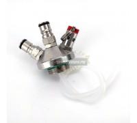 Разливочная головка для мини-кегов KegLand с фитингами Ball Lock