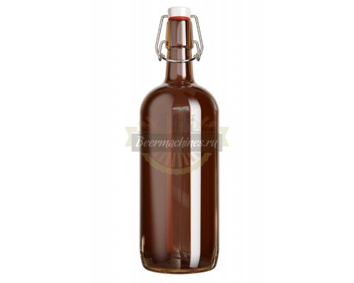 Бутылки с бугельной пробкой 1 л (4 шт.)