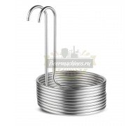 Охладитель сусла погружной / чиллер 8,8 м (круг)