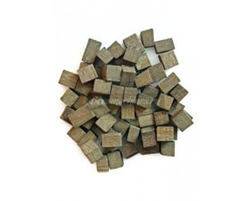 Дубовые кубики легкий обжиг, 100 г