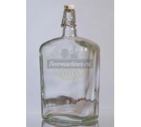 Бутылка стеклянная «Малек», 0,75 л