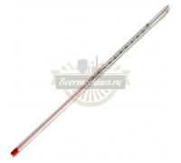 Термометр стеклянный, 0…+100°C