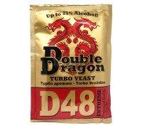 Дрожжи DoubleDragon D48 Extreme Turbo, 132 г