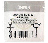 Винные дрожжи Gervin GV5 White Fruit Wine, 5 г