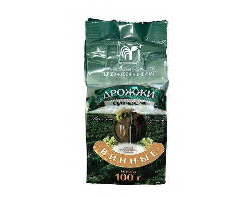 Винные дрожжи «Дрожжевой комбинат», 100 г (Беларусь)