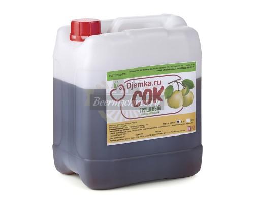 Грушевый концентрированный сок 5 кг