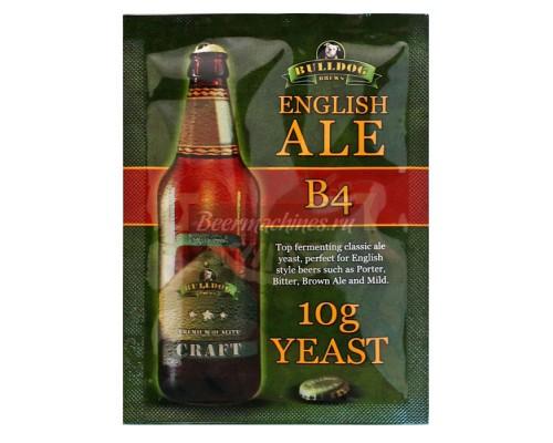 Сухие пивоваренные дрожжи BullDog B4 English Ale, 10 г
