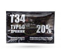 Спиртовые дрожжи Т34 Турбо, 155 г