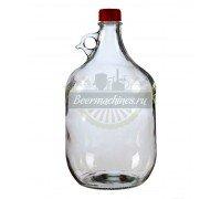 Бутылка стеклянная «Сулия», 5 л