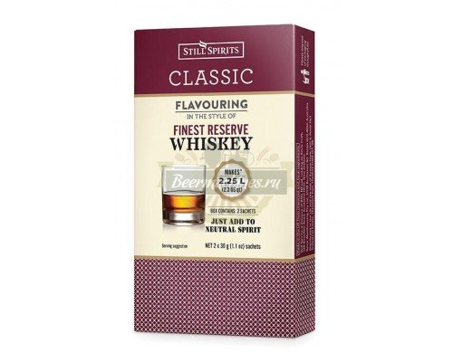 Эссенция Still Spirits «Finest Reserve Whiskey» Classic, на 2,25 л