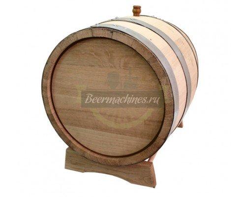 Дубовая бочка для самогона, коньяка, виски, вина (50 л)