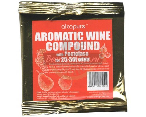 Дрожжи Alcopure Aromatic Wine Compound, 40 г