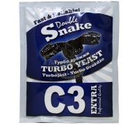 Дрожжи DoubleSnake C3 Extra Turbo, 90 г