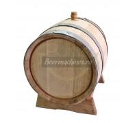 Дубовая бочка для самогона, коньяка, виски, вина (20 л)