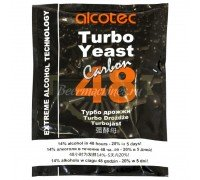 Спиртовые дрожжи Alcotec Carbon 48 Turbo (с углём), 175 г