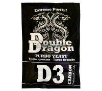 Дрожжи DoubleDragon D3 Carbon (с углём), 123 г