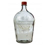 Бутылка стеклянная «Ровоам», 4,5 л