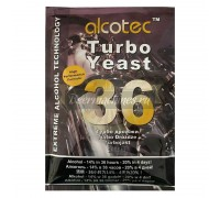 Дрожжи Alcotec 36 Turbo, 160 г