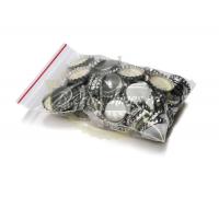 Кроненпробка «серебряная» со вспененной прокладкой ПВХ, 100 шт.