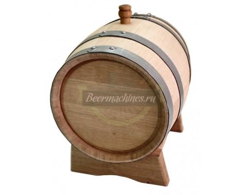 Дубовая бочка для самогона, коньяка, виски, вина (10 л)