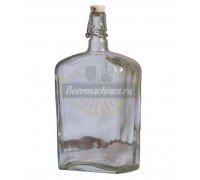 Бутылка стеклянная «Викинг», 1,75 л