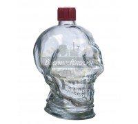 Бутылка стеклянная «Череп» 1 л