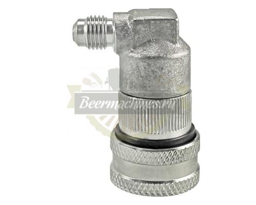 Коннектор KegLand Ball Lock металлический, исходящий (напиток) с резьбой