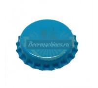 Кроненпробка «синяя» со вспененной прокладкой ПВХ, 100 шт.