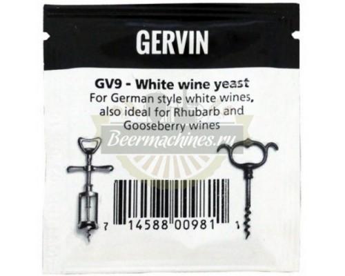 Винные дрожжи Gervin GV9 White Wine, 5 г