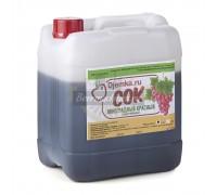 Красный виноград концентрированный сок 5 кг