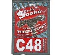 Дрожжи DoubleSnake C48 Turbo, 130 г
