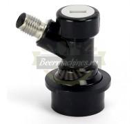 Коннектор KegLand Premium Ball Lock исходящий (напиток) с резьбой