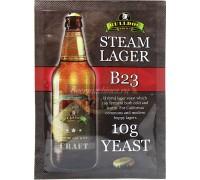 Сухие пивоваренные дрожжи BullDog B23 Steam Lager, 10 г